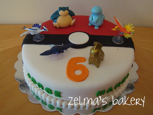 Pokemon Cake - view 3