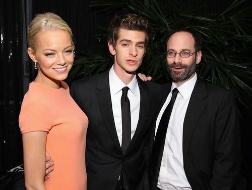 02 Emma Stone y Andrew Garfield en los premios de Globos de Oro