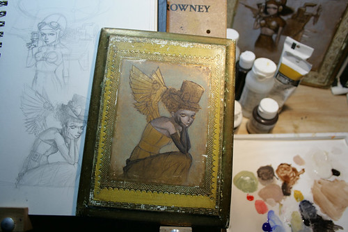 WIP - Steampunk Angel