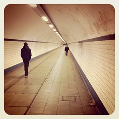 going the same way (-justk-) Tags: river tunnel schelde pedestriantunnel antwerpen iphone mysons sintannatunnel instagram