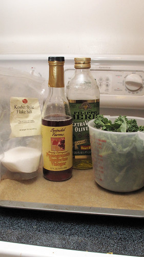 Ingredients for Kale Chips