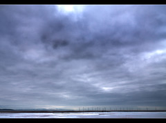 Big sky, Crosby beach. Explored Frontpage (Ianmoran1970) Tags: cloud mountains beach weather farm wide explore frontpage windfarm explored ianmoran ianmoran1970
