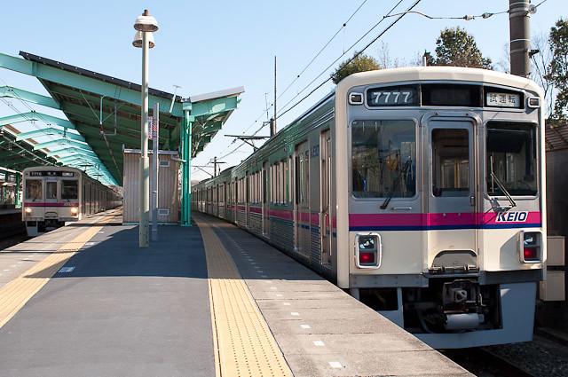 京王電鉄7000系 7027F クハ7777 出場試運転
