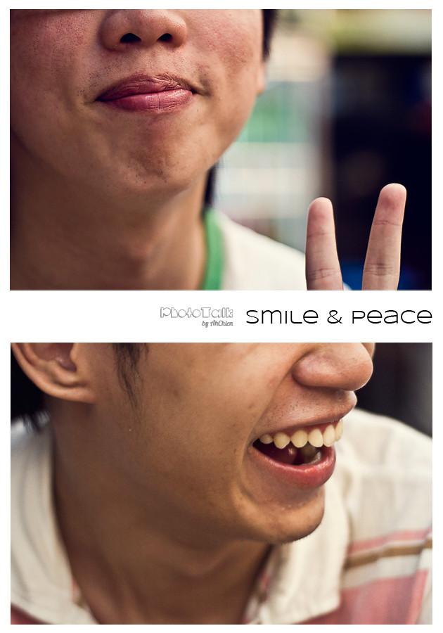 smile & peace