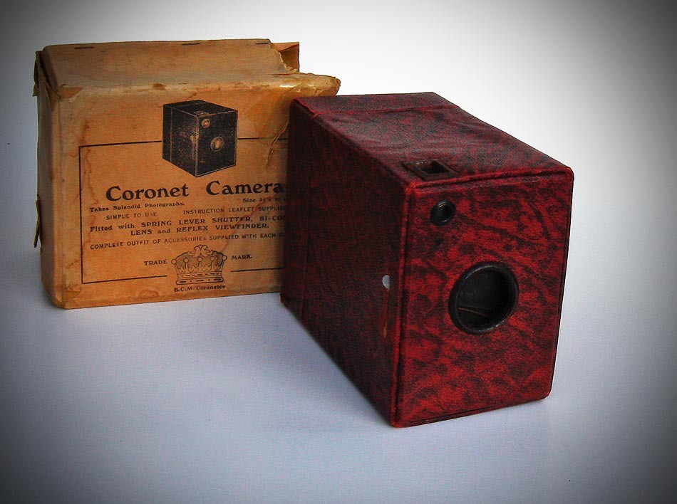 Coronet Box Plate Camera