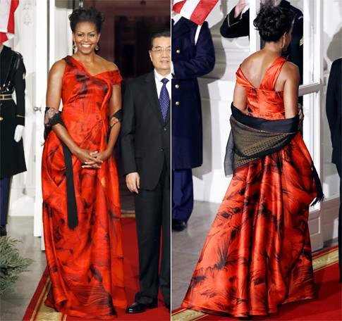 Michelle Obama State Dinner