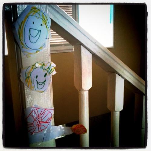 Mama & Vanya @ stairs