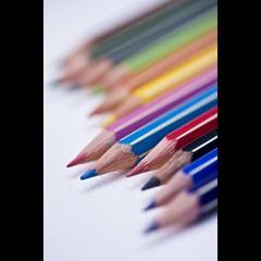 Catalyst (ANVRecife) Tags: 40d macro canon monday macromondays conceptphotos creativeconcept creativephoto concept vallejos anvrecife bokeh color colorful pencil pencils flickr pink blue coloring catalyst imagination drawing sketching