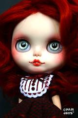 She doesn't remember what happened (♥PAM♥dolls♥) Tags: doll vampire blythe blythedoll rbl customblythe vampiredoll pamdolls