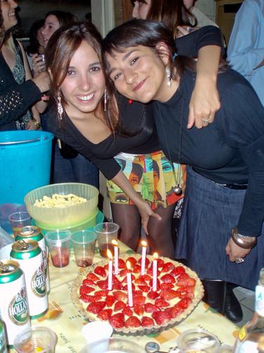 Con Sara, hace tres años (2)