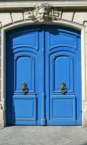 Bright Blue Door