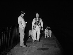 Rhett & WooFDriver At The Monocacy Aqueduct