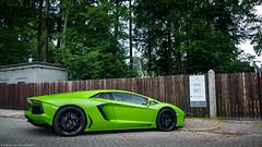 Green Aventador (Harm-Jan Rouwendal) Tags: lamborghini aventador green lp7004 supercar hypercar spoiler car italian netherlands apeldoorn nikon