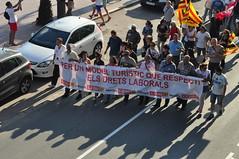 Manisfestation LLORET DEL MAR (2) (hube.marc) Tags: manisfestation lloret del mar espagne spain ccoo syndicat