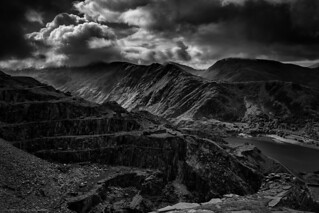 Dinorwic in mono (explored briefly 30/9/16 #11)