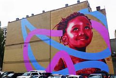 "aptART 2016 ""Under The Same Sky"" by Kevin Ledo (wiredforlego) Tags: graffiti mural streetart urbanart publicart portland ore pdx kevinledo aptart"