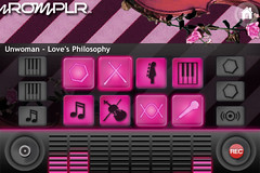Romplr remix Unwoman mixing screen