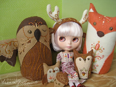 luna and her animal friends