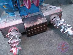 "TEENAGE MUTANT NINJA TURTLES :: ""Technodrome Scout Vehicle"" { 1993 } KB Toys Reissue // ..detail xxi (( 1998 ))"