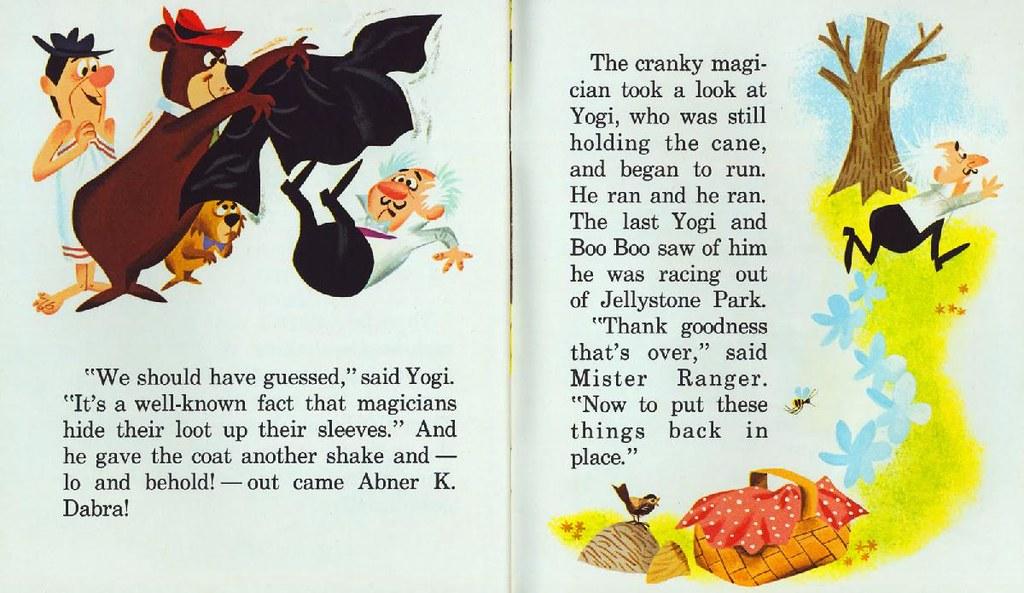 Yogi Bear & the Cranky Magician015