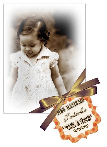 ★ Cartãozinho do Batismo ★