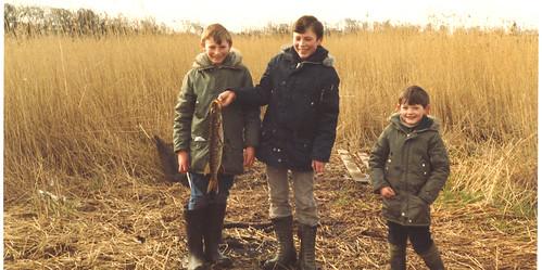 Bobby Waton, George Watson and Tony Nicoletti 1980s