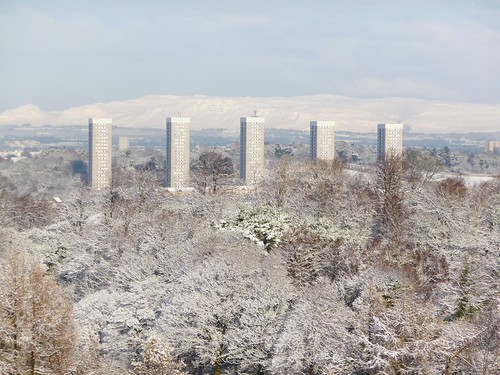 Snow Covered Glasgow
