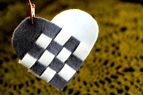 Woven Danish Heart Baskets
