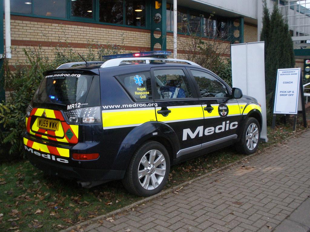Medroc Mitsubushi Response Vehicle