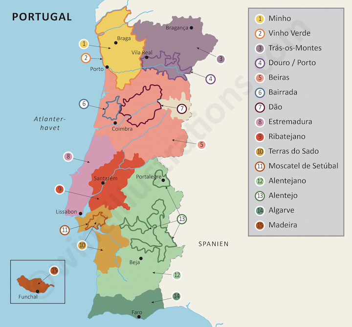 Karta Europa Portugal.The World S Most Recently Posted Photos By Wine Illustrations