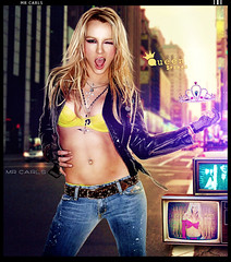 Happy Birthday - Britney S. (Mr. Carls) Tags: birthday light music by de happy design back tv amazing cool flickr day all jean mr princess spears birth carlos s pop queen h rights bday britney reserved henrique carls 2010 collors the parabens