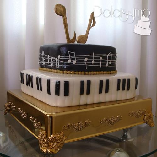 Music Cake / Torta Musical
