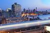 the M train (Tony Shi Photos) Tags: new york city nyc bridge light ny brooklyn train river photo stroke m east williamsburg hdr williamsburgh nuevayork 纽约 紐約 نيويورك nikond700 ньюйорк 뉴욕주 tonyshi ניויאָרק