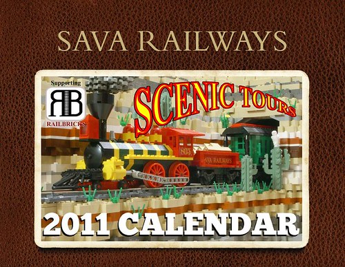 Sava Railways Scenic Tours 2011 Calendar