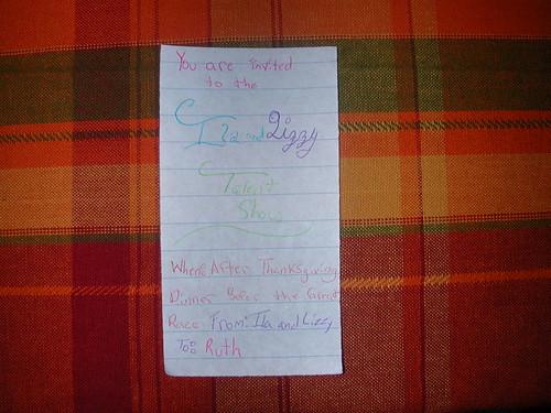 Nov 25 2010 Program invite