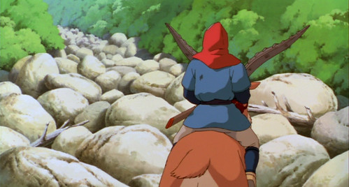 Scene from Princess Mononoke