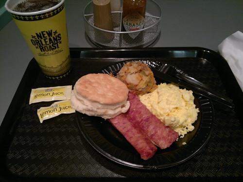 Andouille Sausage Breakfast Platter