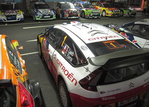 WRC Wales Rally GB Cardiff Bay Service / Park Ferme November 2010