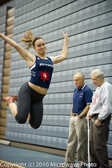 NCAA Long Jump (n8xd) Tags: girls college sports field female jump sand women long university track action michigan indoor womens dirt ncaa northwood collegiate 2010 longjump saginaw glvc gliac d3s microwavephoto