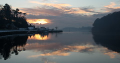 Donegal Town Bay (Anthony McCrea) Tags: sunset reflection water boats