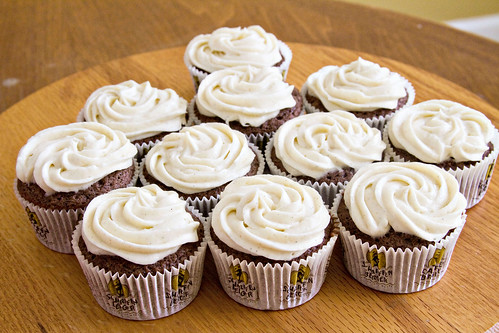Spicy Dark Chocolate Cupcakes - 7
