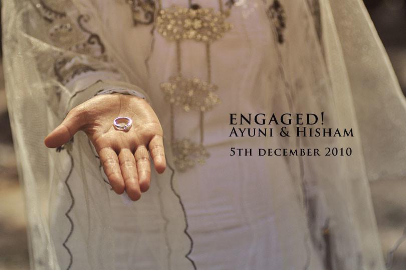 Engagement Ayuni + Hisham