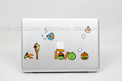 Angry bird- Macbook decal sticker skin vinyl