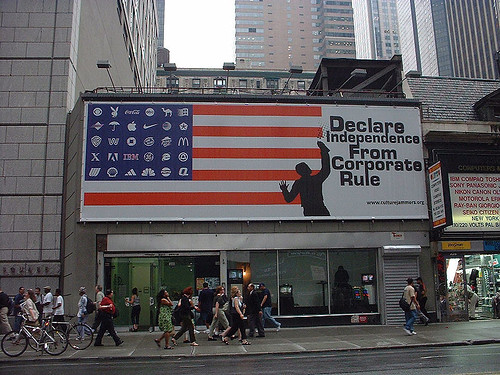 Activisme tegen dominantie multinationals