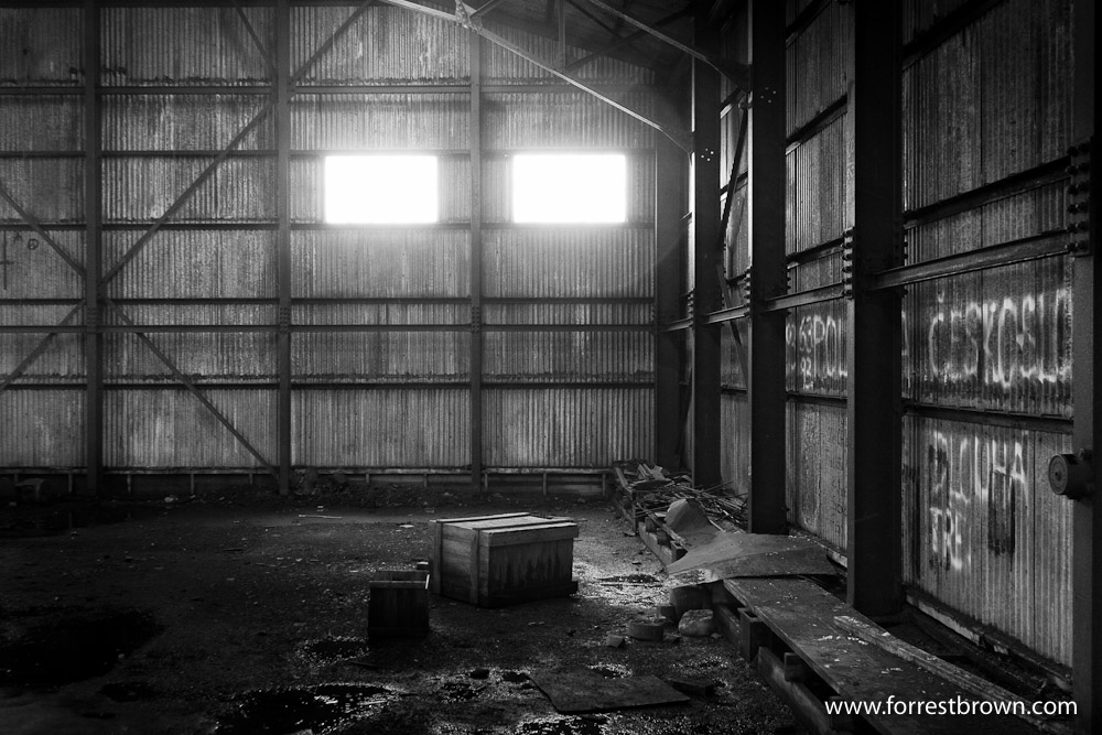 Abandoned Airplane Hanger