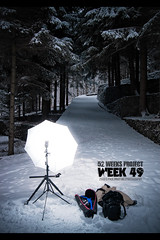 Week 49 | light set up (Paolo Martinez) Tags: snow typography frames outdoor flash behindthescenes 1022mm grafica oropa flashoutdoor