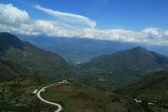 On the road between Chachapoyas and Celedin, Peru (meckleychina) Tags: road peru ruta landscape carretera paisaje paisagem route estrada andes cajamarca amazonas rodovia