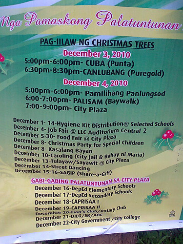 Christmas at Calamba, Calamba-Online, Calamba City, Laguna