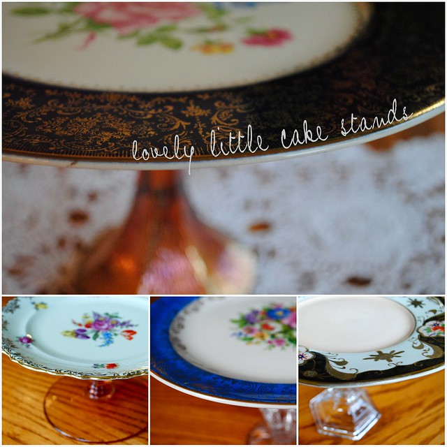 lovely little cake stand sale!