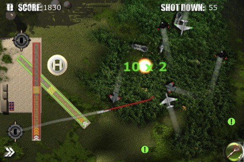 Stinger Missile onto the App Store with Exclusion Zone: Anti-Air Warfare for iPhone and iPod touch